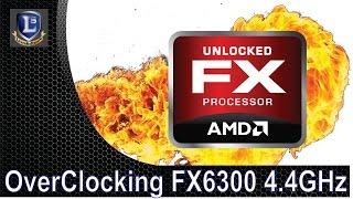 OverClocking FX6300 de 3.5 para 4.4 GHz