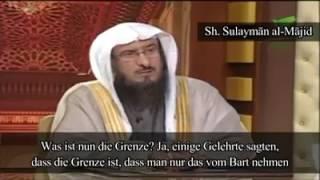 Islam/ Wie lang muss der Bart mindestens sein ? Teil2