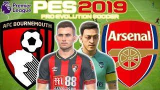 Bournemouth vs Arsenal Prediction   English Premier League 25th Nov   PES 2019 Gameplay