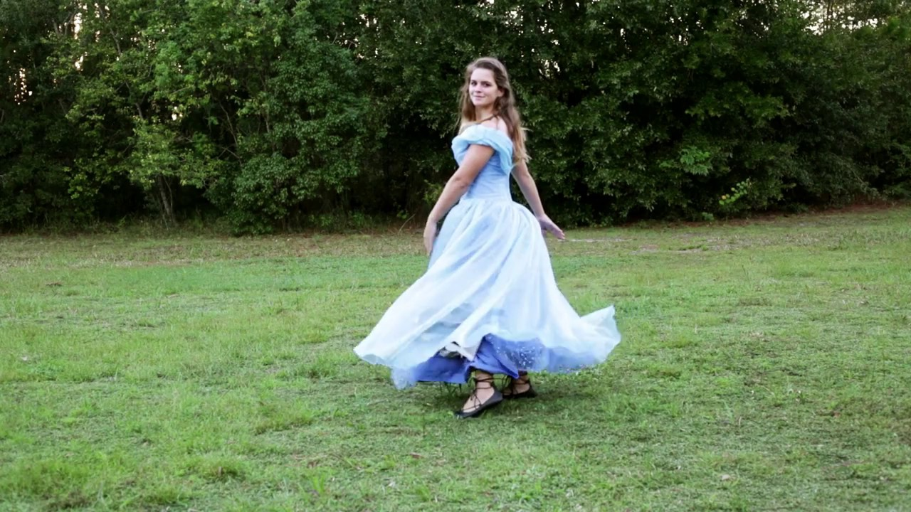 Cinderella Transformation Dress - YouTube
