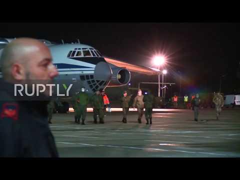 Italy: FM Di Maio welcomes Russian aid planes amid coronavirus fight