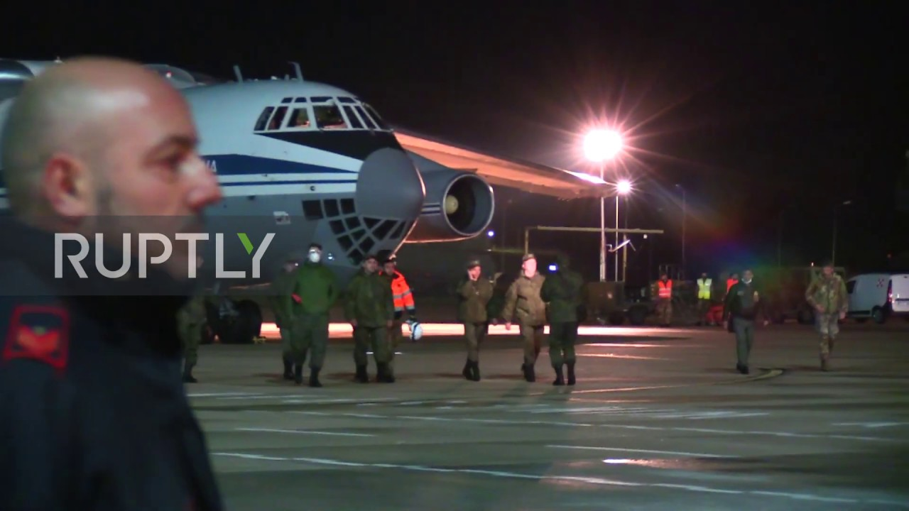 Italy: FM Di Maio welcomes Russian aid planes amid coronavirus fight