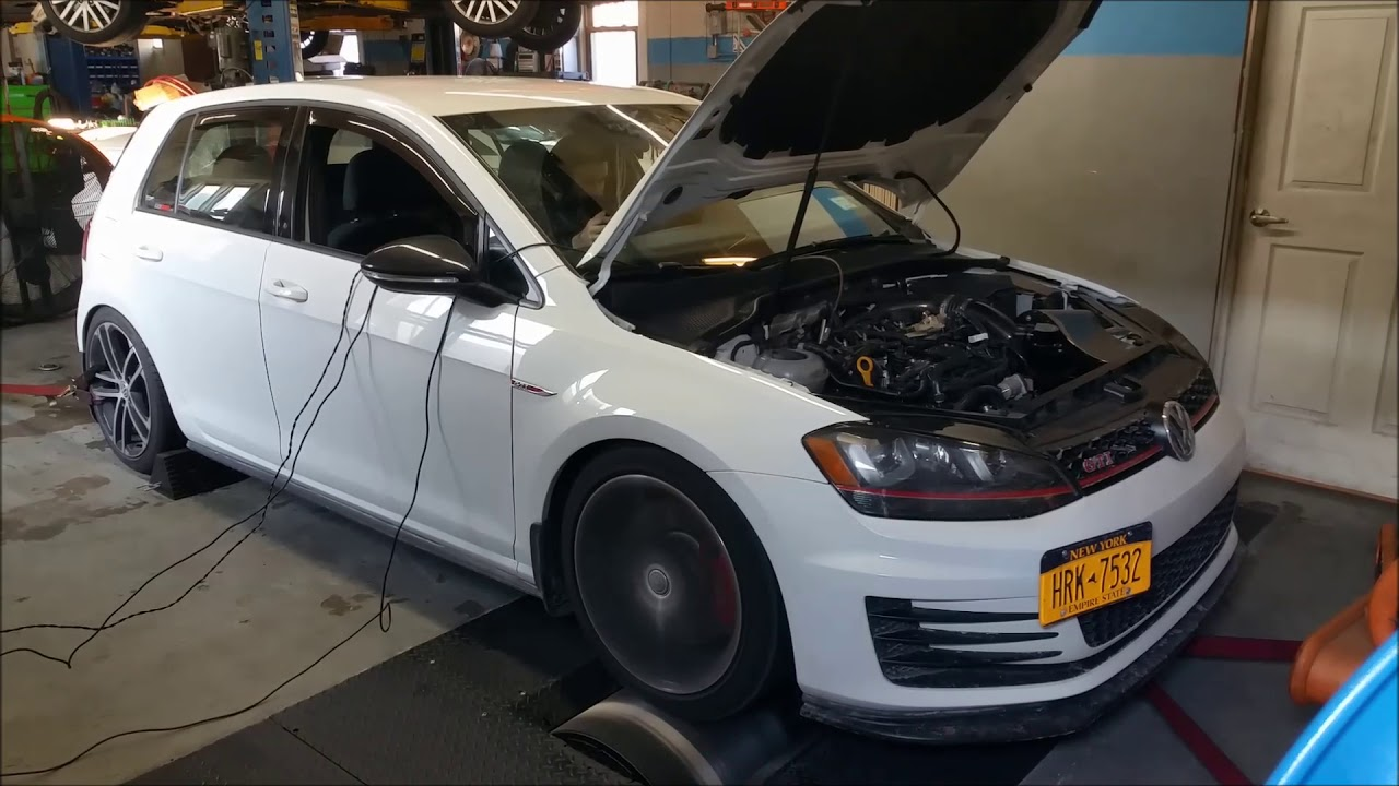 2017 Volkswagen GTi - Custom Dyno Tune - Cobb AccessPort
