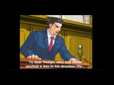 Phoenix Wright Ace Attorney Boot To The Head Youtube