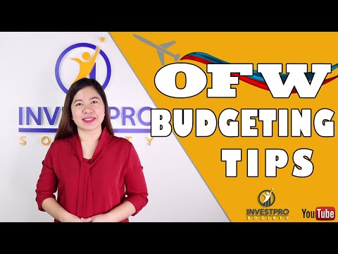 OFW: Budgeting Tips para maging successful FINANCIALLY (2019)