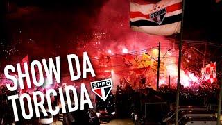 LIBERTADORES - SHOW DA TORCIDA TRICOLOR!   SPFCTV