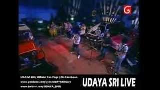 UDAYA SRI - Mage Heenaye LIVE @ D Star Studio