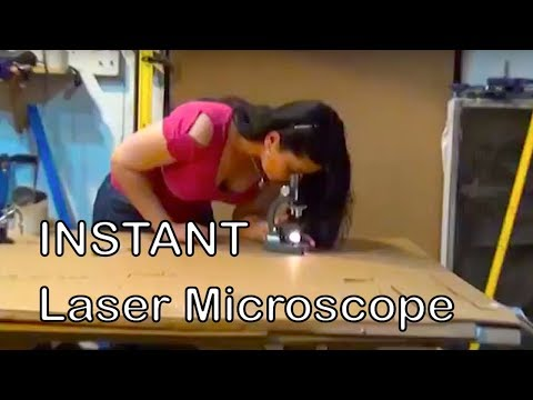 Laser Microscope DIY Microscope non-aqueous GreenPowerScience