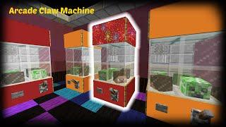 Minecraft - How to make an Arcade Claw Machine