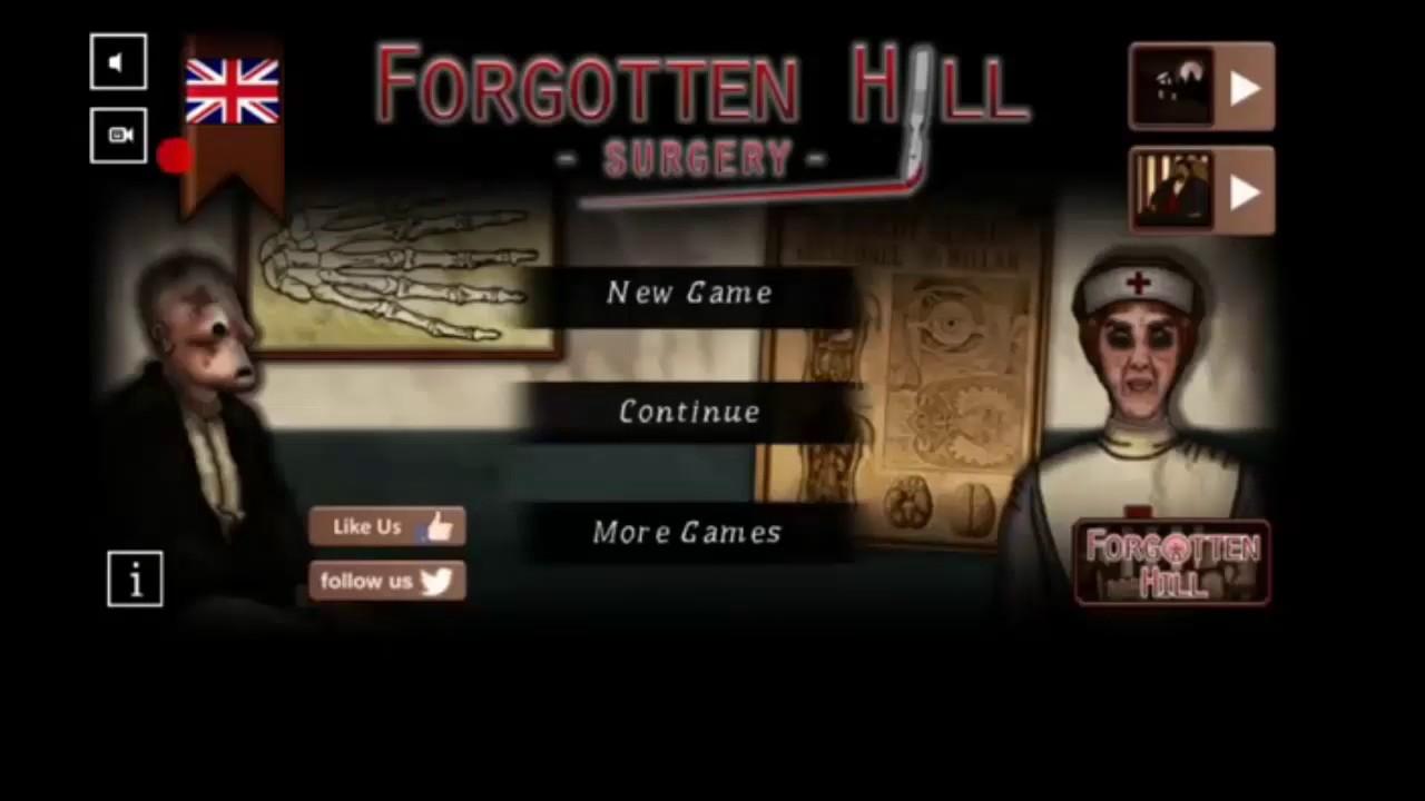 Forgotten Hill Surgery Lösung