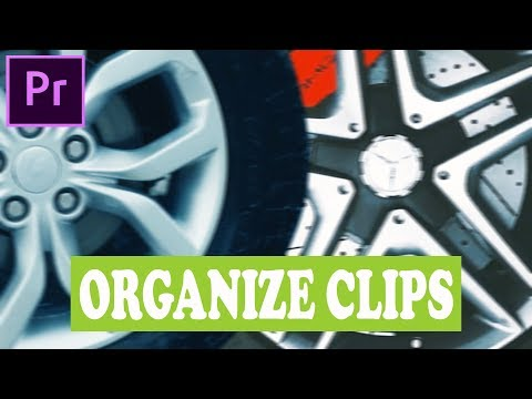 How to Organize Clips for the Tutorial of Benn TK in Adobe Premiere Pro thumbnail