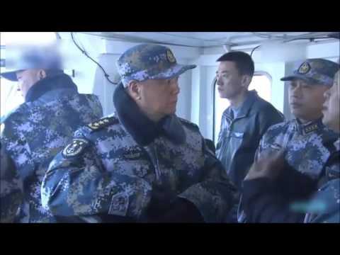 中�型国产航母舰岛不小 完全成型 Chinese Navy