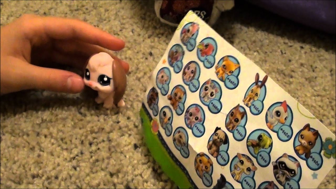 Opening Cutest Pets Blind Bag With My Lps Stuffed Animal