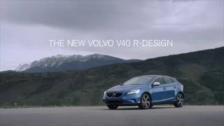 The New Volvo V40 R-Design