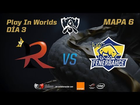 RAMPAGE VS 1907 FENERBAHÇE - LOL WORLDS 2017 - DÍA 3 - PLAY IN