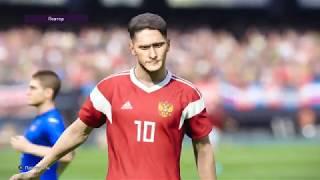Pro Evolution Soccer 2020 Стань легендой часть 14 Дебют в сборной России