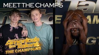 Bars and Melody and Strauss Serpent Are Going To SHOCK America - America's Got Talent: The Champions