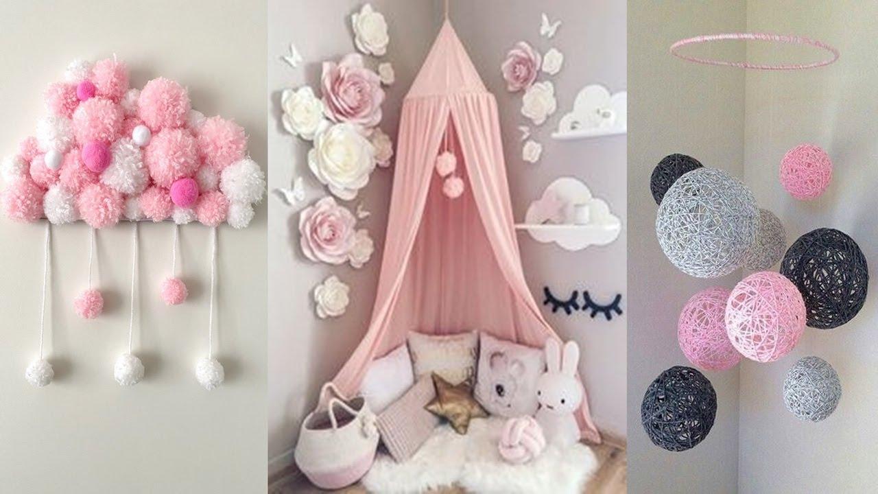 Diy Room Decor 36 Decorating Ideas For Girls Youtube