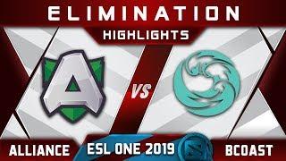 Alliance vs beastcoast [TOP 3] ESL One Hamburg 2019 Highlights Dota 2