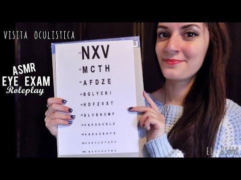★ASMR italiano★ VISITA OCULISTICA Roleplay! Eye Exam
