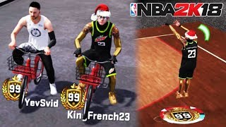 NBA 2K18 THROWBACK w/ TWO 99 OVERALLS • BEST PURE SHARP RETURNS TO THE WORST 2K 🤮