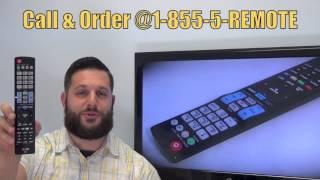 LG AKB74115501 TV Remote Control - www.ReplacementRemotes.com