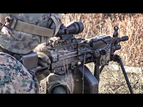 Marines Live-Fire Ops • Novo Selo Training Area Bulgaria