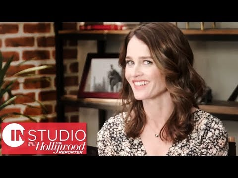 Robin Tunney on Working With Nicolas Cage on 'Looking Glass' | In Studio With THR