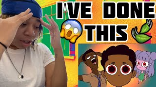 Young Don The Sauce God - EATING MAGIC BROWNIES (Animated Story) | REACTION