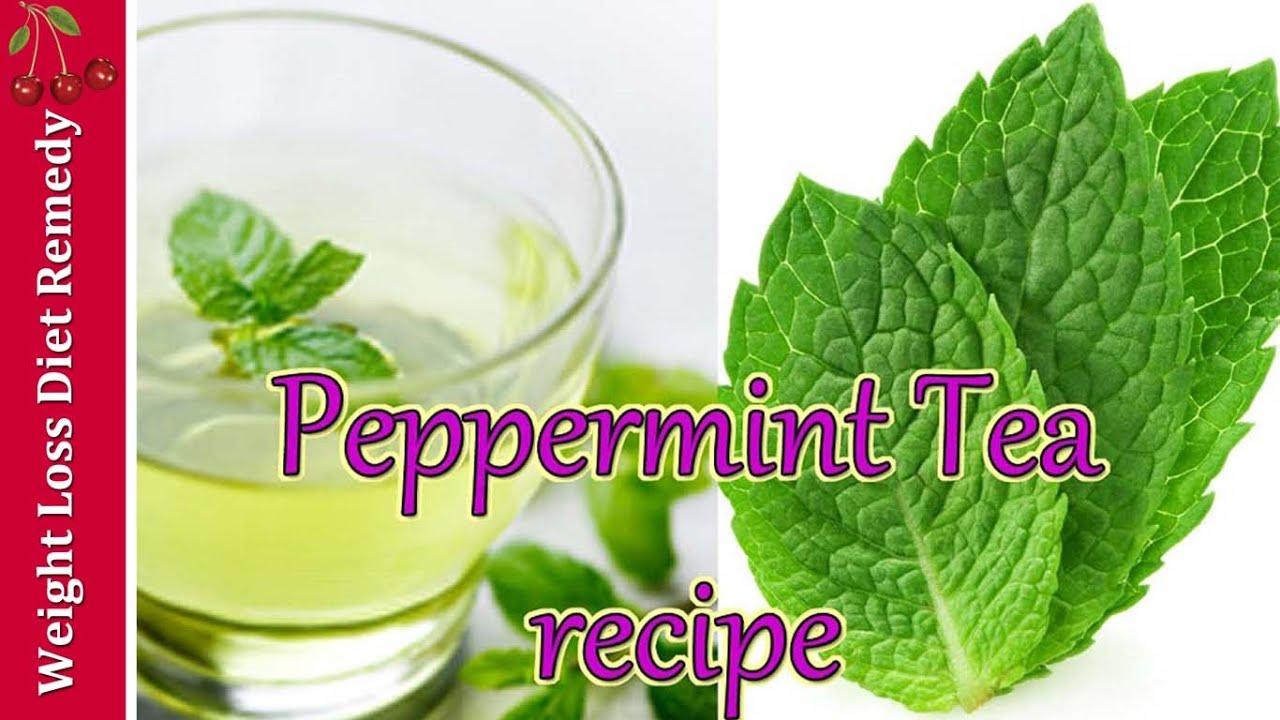 Digestive Aid Natural Weight Loss Peppermint Tea Recipe प चन