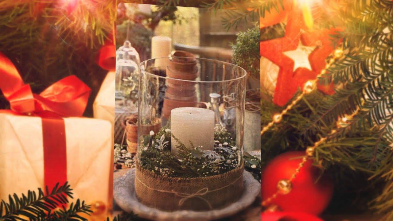 Ideas de centros de mesa para navidad manualidades for Decoraciones navidenas faciles de hacer