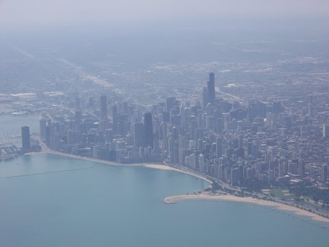 Landing at Chicago Airport/O