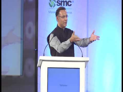 Jayant Sinha speaks at BSE- D&B Equity Broking Awards