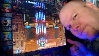 Arcade 1UP Rival Boss Testing & Playing Arcade Games
