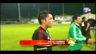 México vs Turquía Final Torneo Esperanzas de Toulon 2012 Sub-23