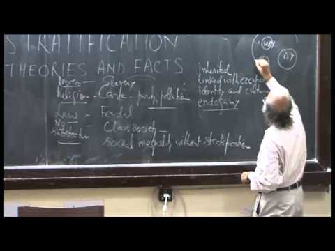 Mod-01 Lec-24 Social stratification-II: Explanations of social stratification