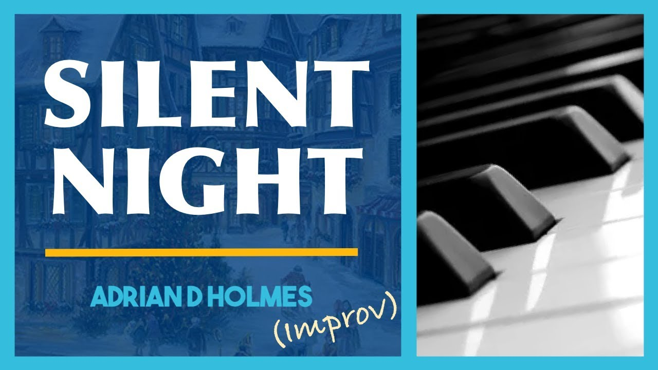 improvisation on silent night for piano solo