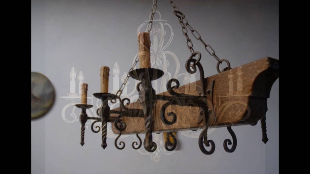 wrought iron chandeliers YouTube – Rot Iron Chandeliers