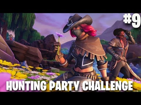 FORTNITE WEEK 9 SECRET BATTLE STAR   #9 Loading Screen   Hunting Party   Fortnite Battle Royale