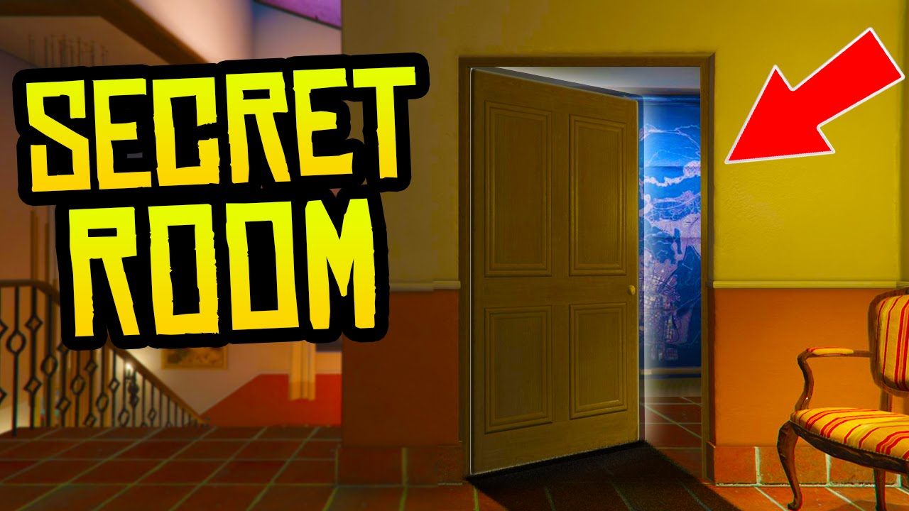 Gta  Secret Room In Michael S House