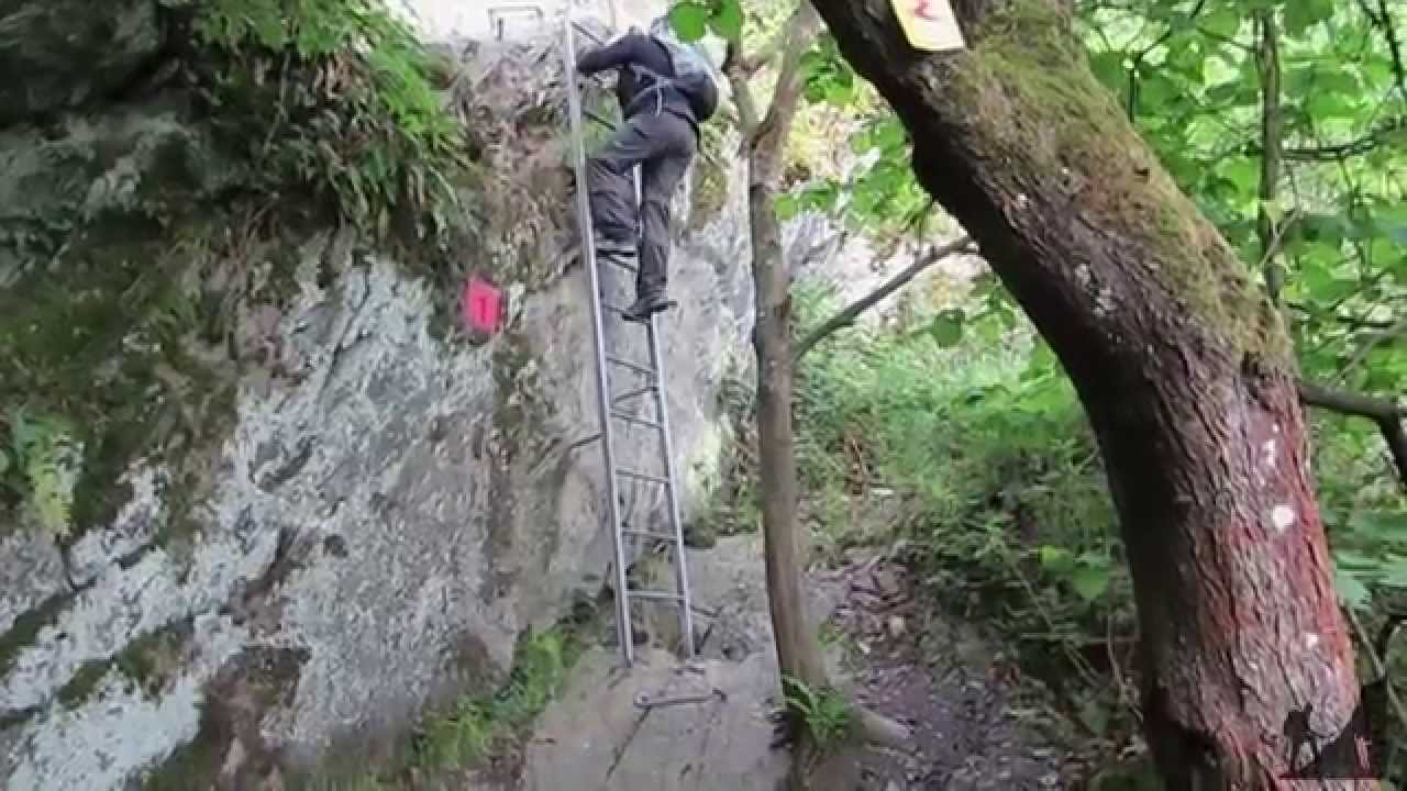 Klettersteig Boppard : Boppard klettersteig youtube