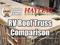 RV Roof Truss Rafter Comparison with Josh the RV Nerd