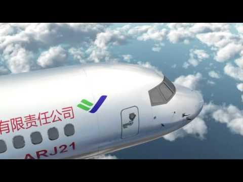 COMAC ARJ21 Introducing Video