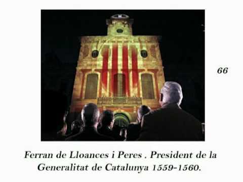 130 PRESIDENTS DE LA GENERALITAT DE CATALUNYA.