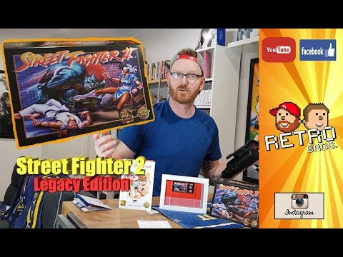 Street Fighter 2 30th Anniversary Legacy Collection Unboxing