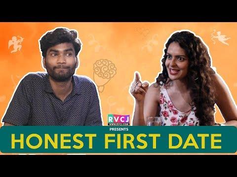 Honest First Date  Ft Nikhil Vijay & Bidita Bag  RVCJ