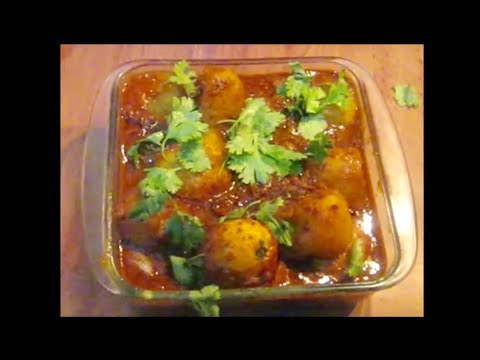 Egg & Potatoes Spicy Masala Curry