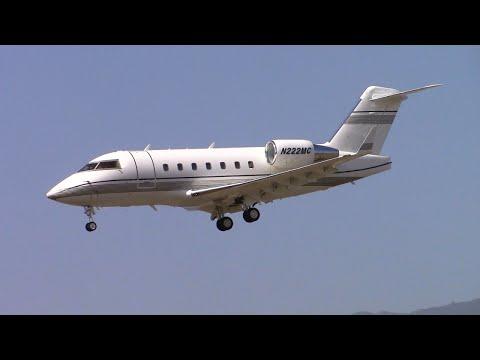 Busy Day Planespotting at Santa Barbara Airport (SBA) August 8, 2015