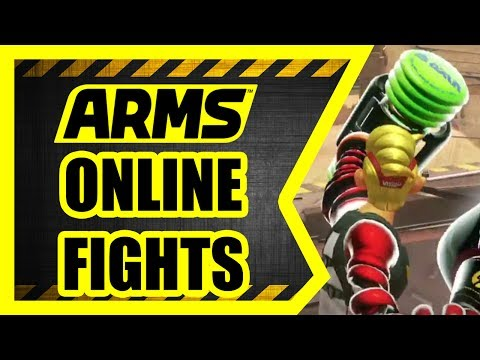 ARMS - Nintendo Switch [Online Battles 2]
