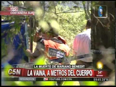 C5N - MUERTE DE MARIANO BENEDIT: APARECIO LA VAINA DE LA BALA QUE LO MATO
